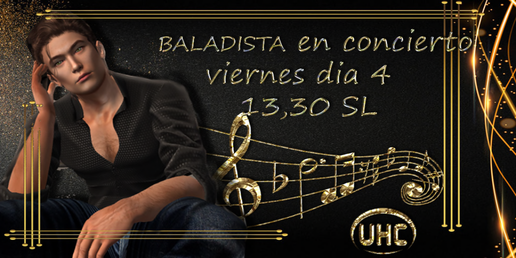 Gran concierto de BALADISTA en Unihispana Crea